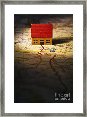 Show Me The Way To Go Home Framed Print by Jan Bickerton