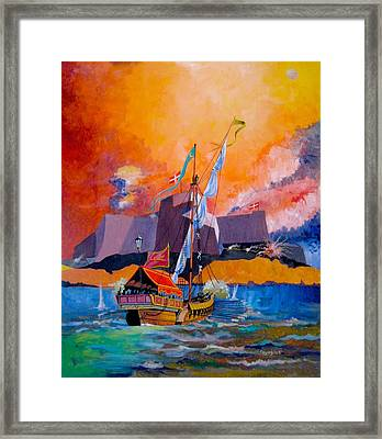 Show Of Force Framed Print