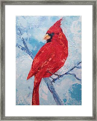 Framed Print featuring the painting Show Off by Chris Rice