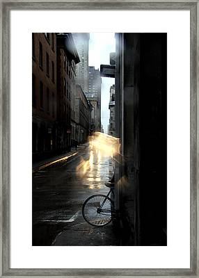 Show Time Framed Print by Russell Styles