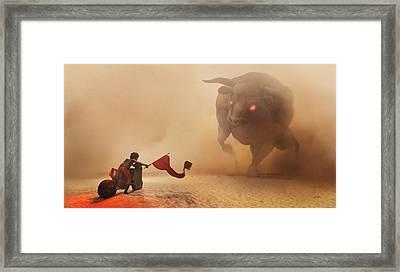 Showdown Framed Print