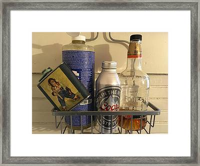 Shower Caddy 2 Framed Print