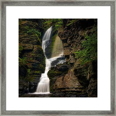Shower Of Eden Framed Print