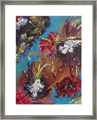 Showers Of Flowers Framed Print