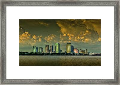 Showers Tonight Framed Print by Marvin Spates