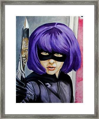 Show's Over M'fers Framed Print by Al  Molina