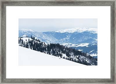 Showy Mountains Framed Print by Svetlana Sewell
