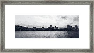 Shreveport Blues Framed Print