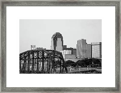Shreveport Downtown Framed Print