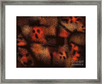 Shriek Framed Print by Roxy Riou