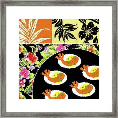 Shrimp Deviled Eggs Framed Print by James Temple