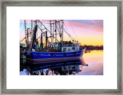 Shrimping Pensacola Bay Photograph By Jc Findley