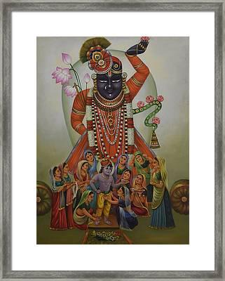Shrinathji Framed Print