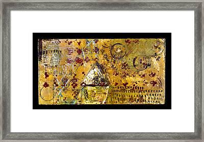 Shrine Framed Print by Lynn Bregman-Blass
