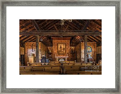 Shrine Of Saint Kateri Tekakwitha Framed Print by John Greim
