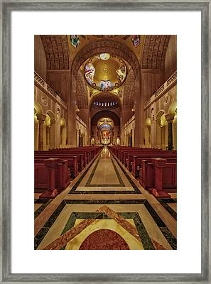 Shrine Of The Immaculate Conception Framed Print