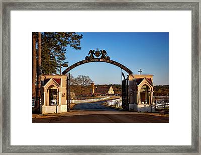 Shrine Of The Most Blessed Sacrament Framed Print by Mountain Dreams