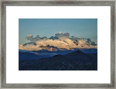 Shroud Framed Print by Skip Hunt