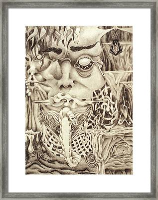 Shudders Framed Print by Sean Imler