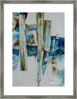 Shuffling Memories Framed Print