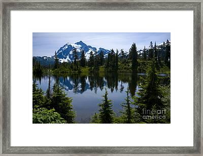 Shuksan In Spring Framed Print by Idaho Scenic Images Linda Lantzy