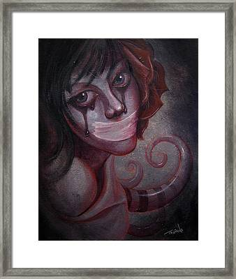 Shush II Framed Print by Matt Truiano