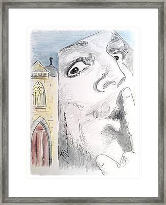 Shushhh  Framed Print