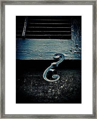 Shutterdog Framed Print