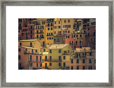 Shuttered Framed Print by Chris Fletcher