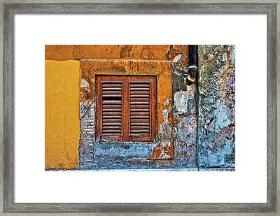 Framed Print featuring the photograph Shuttered by Harry Spitz