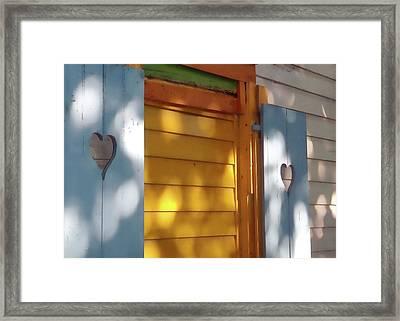 Shuttered Sun Framed Print by JAMART Photography