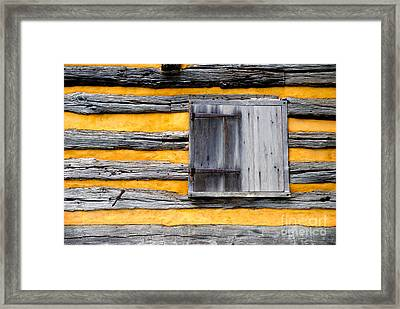 Shuttered Window Framed Print by Paul W Faust -  Impressions of Light