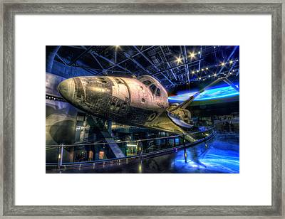 Shuttle Atlantis Framed Print