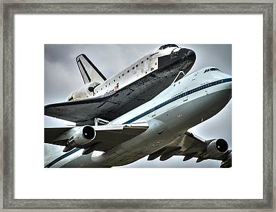 Shuttle Endeavour Framed Print