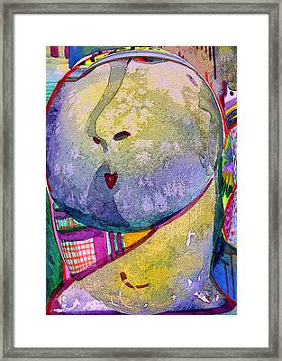 Shy Gal Framed Print by Mindy Newman