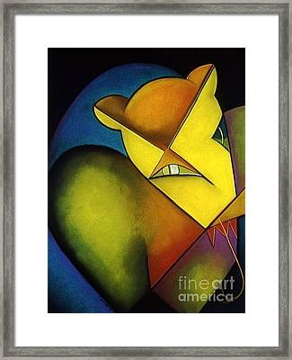 Shy Framed Print by Tracey Levine