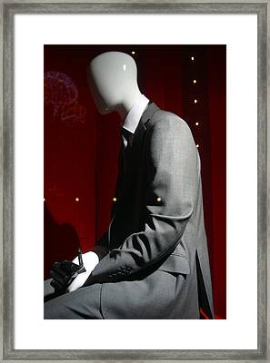 Shying Away Framed Print by Jez C Self