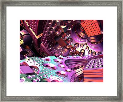 Si-fi Wolrd Framed Print by Gregory Pirillo