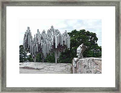 Sibelius Monument Framed Print