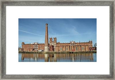 Sibley Mill Framed Print