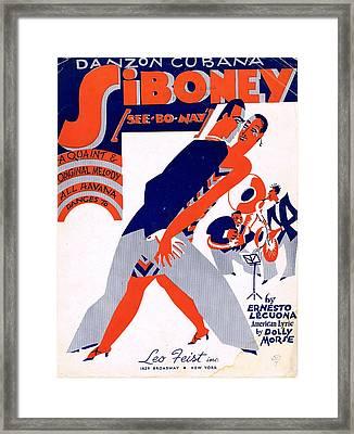 Siboney Framed Print by Mel Thompson
