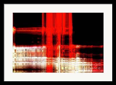 Abstract Handbag Art Framed Prints