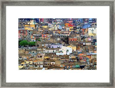 Sicily Framed Print