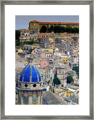 Sicily Framed Print by Sorin Ghencea