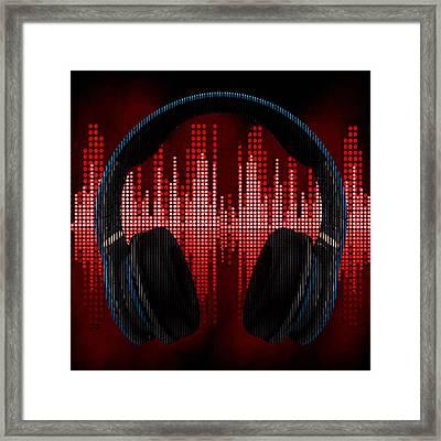 Sick Beats Framed Print by River Starship