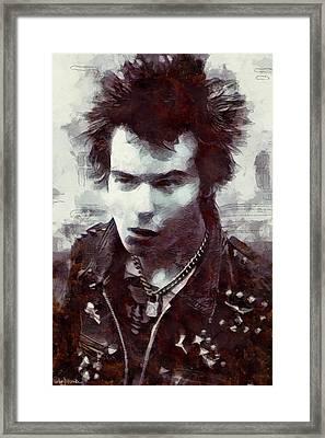 Sid Framed Print