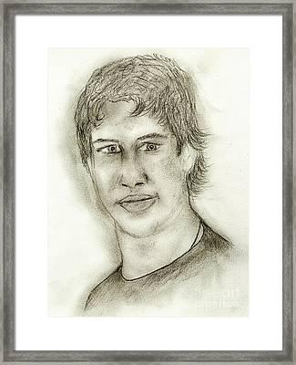 Sid The Kid Framed Print by Sonya Chalmers