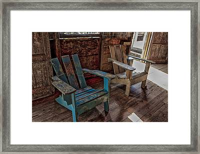 Side By Side Framed Print by Jon Glaser