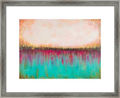 Side By Side Framed Print by Suzzanna Frank