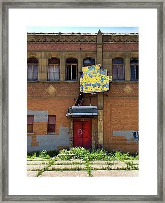 Side Entrance Framed Print by David Kyte